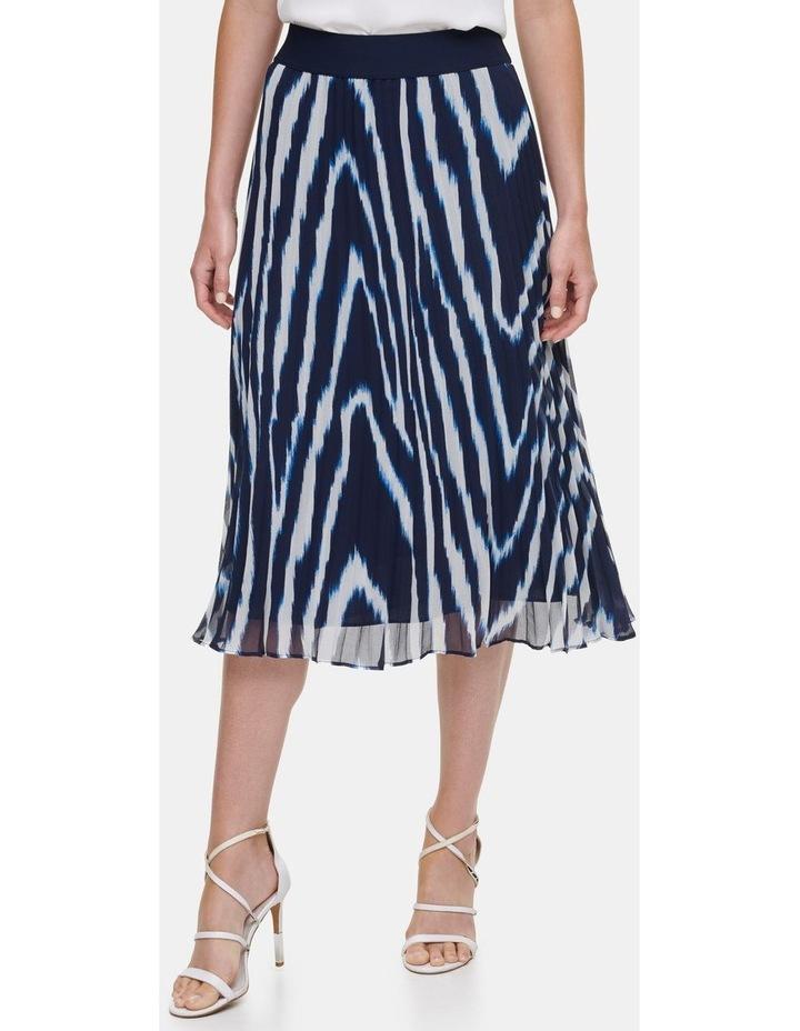 Printed Pleated Skirt image 1