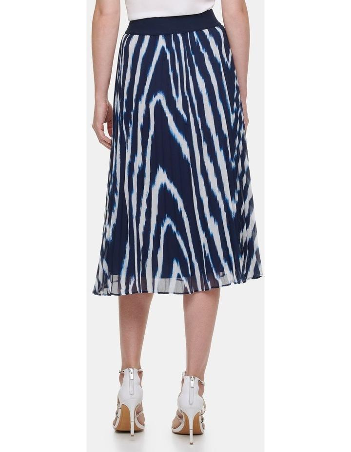 Printed Pleated Skirt image 2