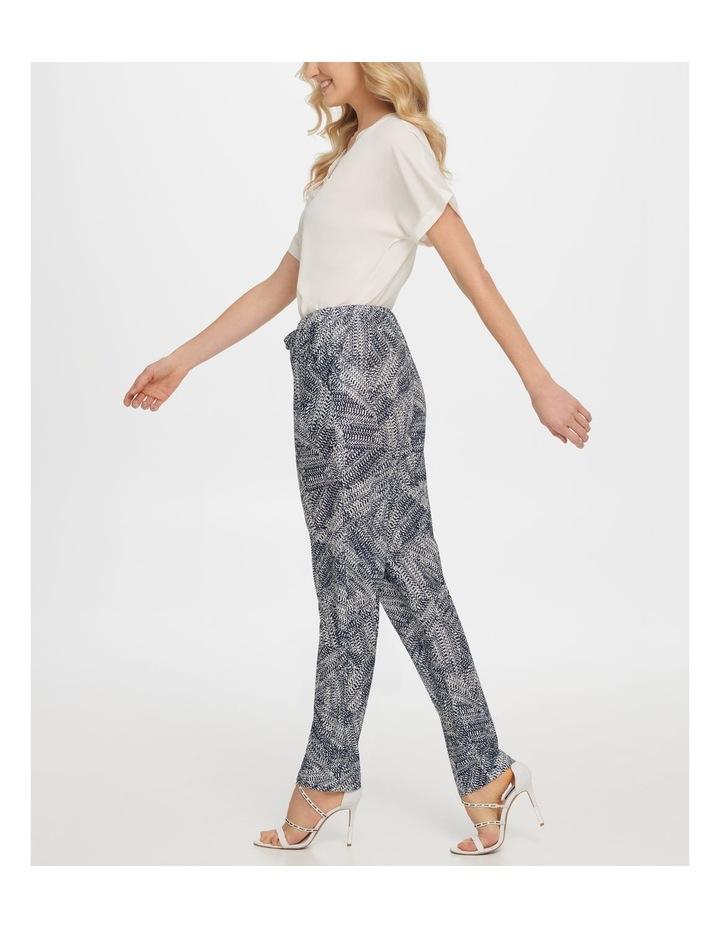 Printed Tie Pull On Pant image 2