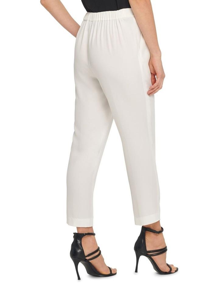 Straight Pants W/ Pleated Waistband image 3