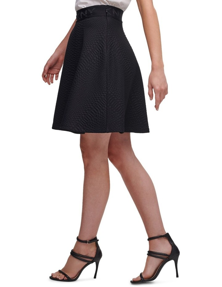 Circle Skirt With Logo Waistband image 4