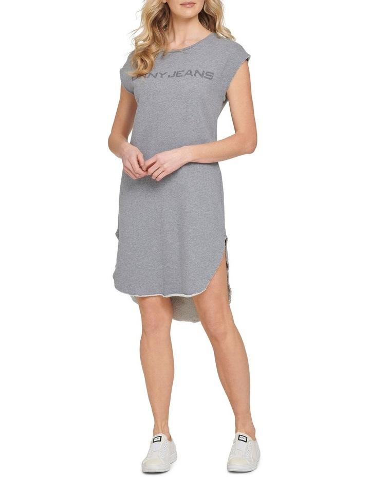 Cap Slv Logo T-Shirt Dress image 1