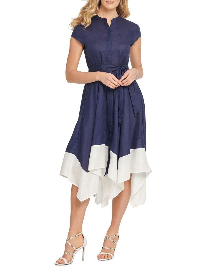Cap Sleeveu Asymm Dress image 1