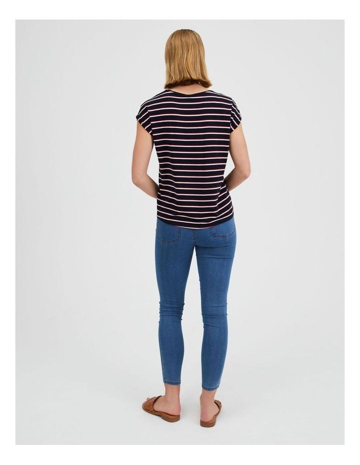 Ava Stripe T-Shirt image 3