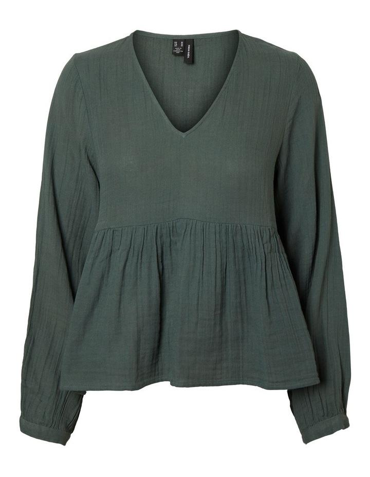 Balie Long-Sleeved V-Neck Top image 1