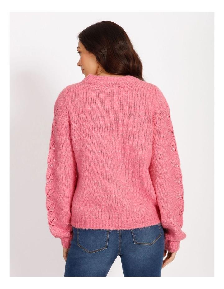 Winnie Long Sleeve O-Neck Blouse image 3