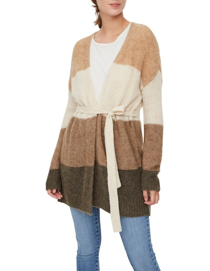 Isaella Long Sleeve Belt Cardigan image 1