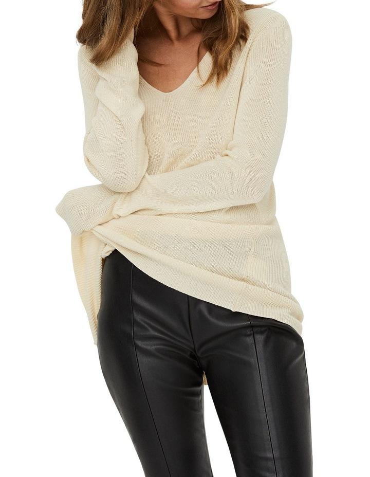 Lexsun Long Sleeve Long V-Neck Blouse image 4