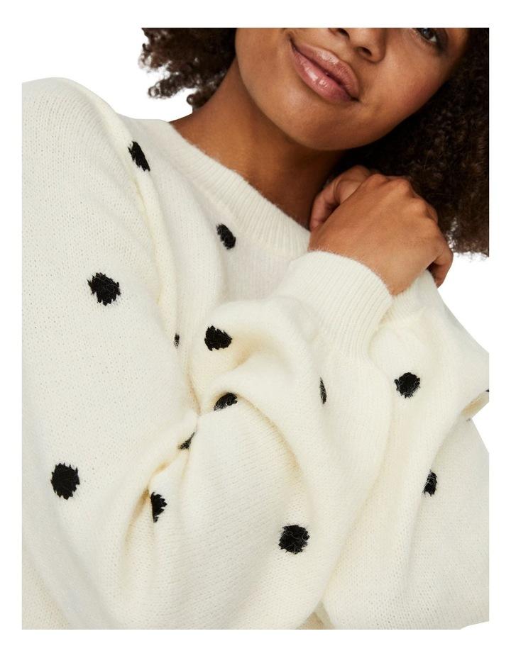 Elleydot Long Sleeve O-Neck Blouse image 4