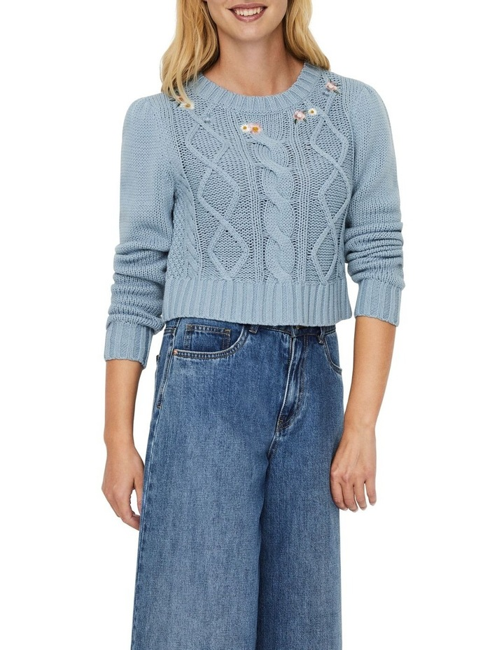Embia O-Neck Croppped Blouse image 1