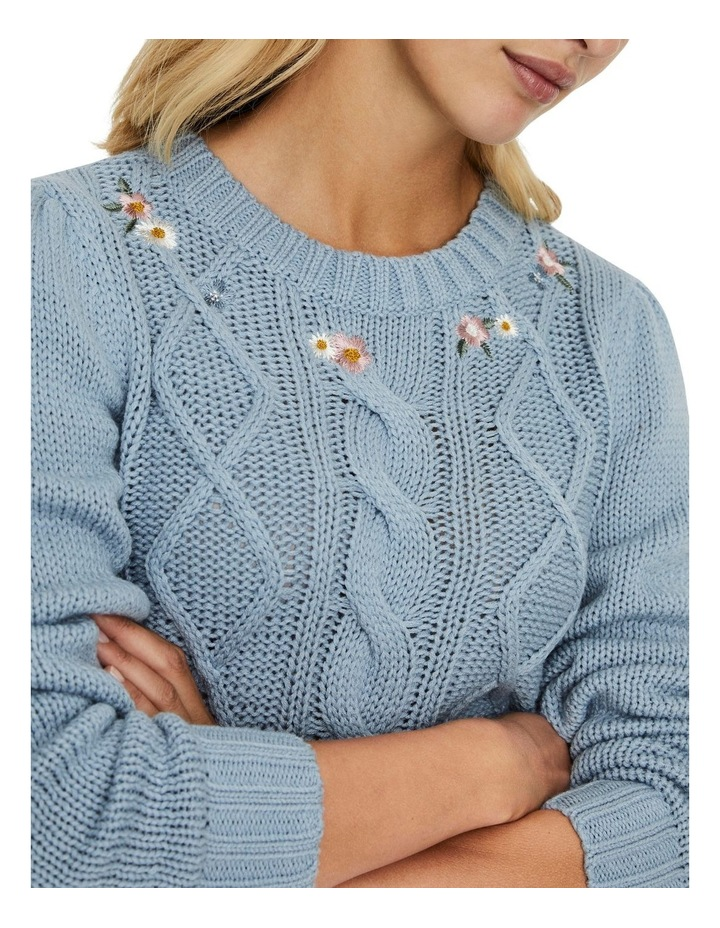 Embia O-Neck Croppped Blouse image 4