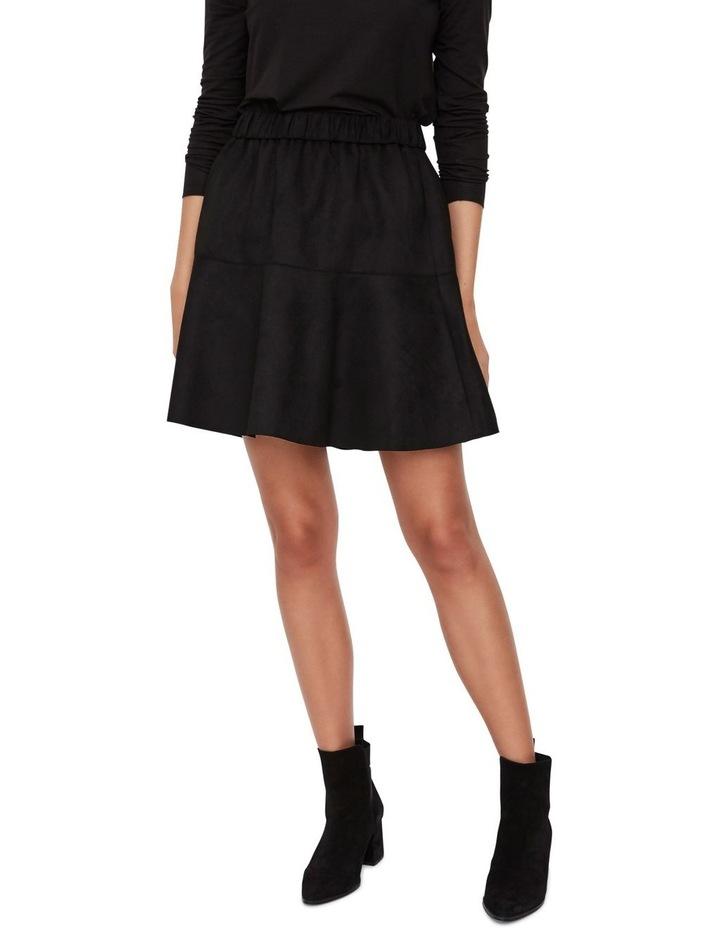 Summer Short Faux Suede Skirt image 1