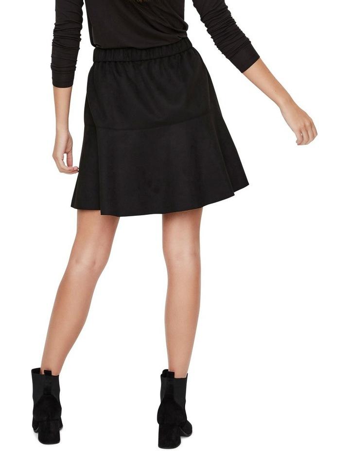 Summer Short Faux Suede Skirt image 2