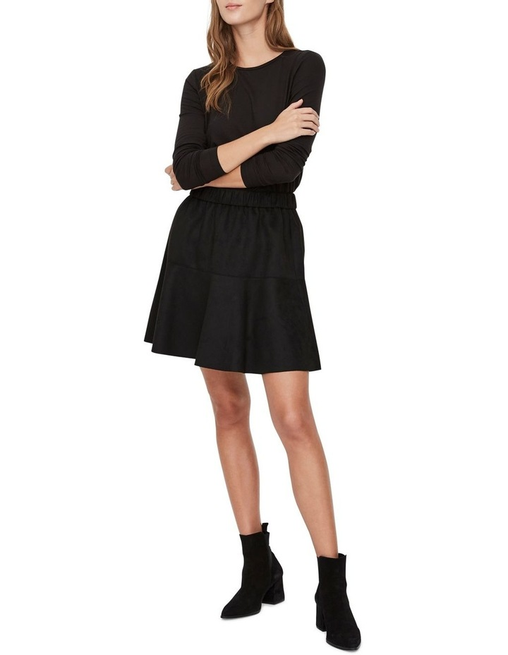 Summer Short Faux Suede Skirt image 3