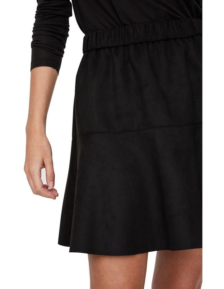 Summer Short Faux Suede Skirt image 4