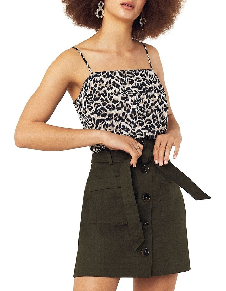Patch Pocket Button Skirt image 1