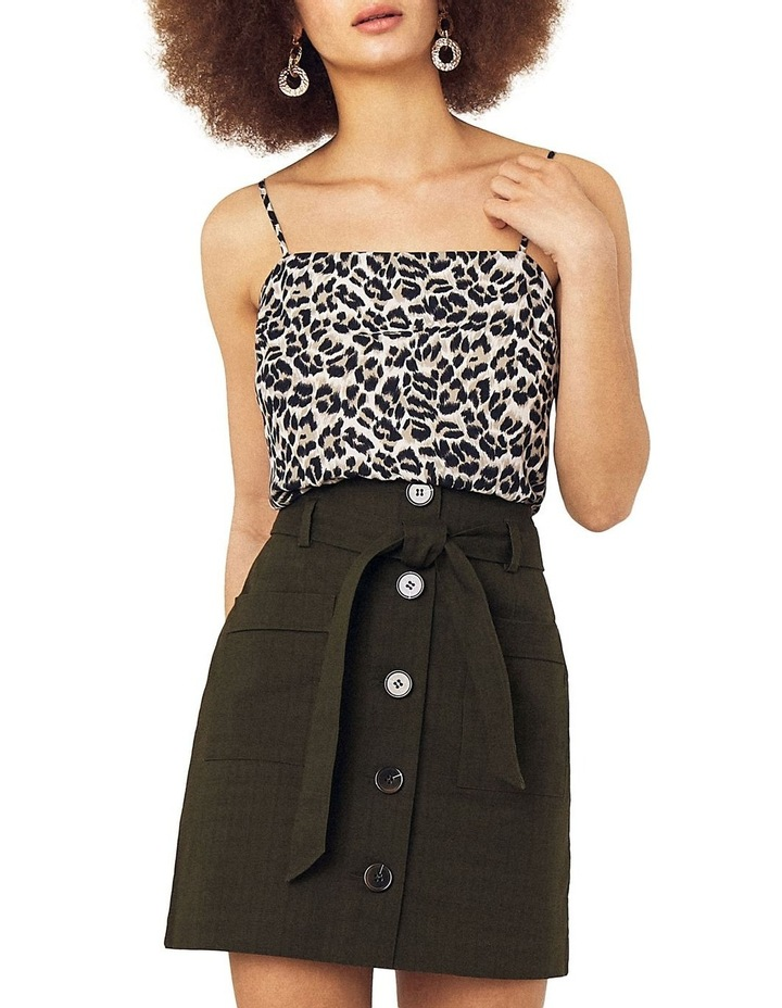 Patch Pocket Button Skirt image 2