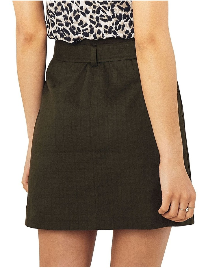Patch Pocket Button Skirt image 3