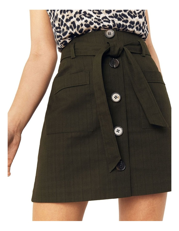 Patch Pocket Button Skirt image 4