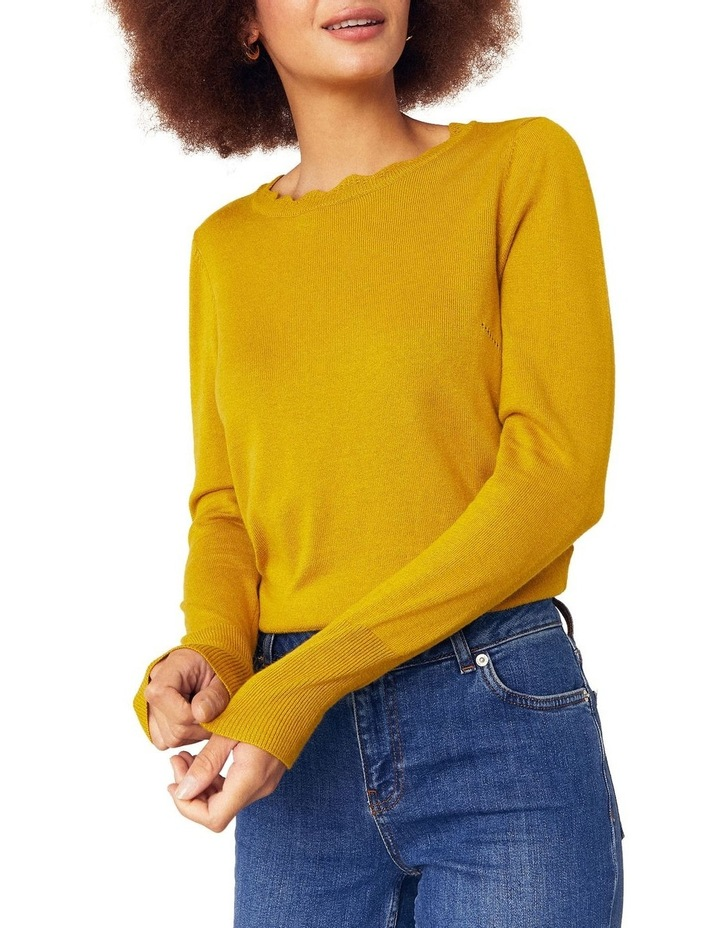 Celina Scallop Neck Jumper image 1