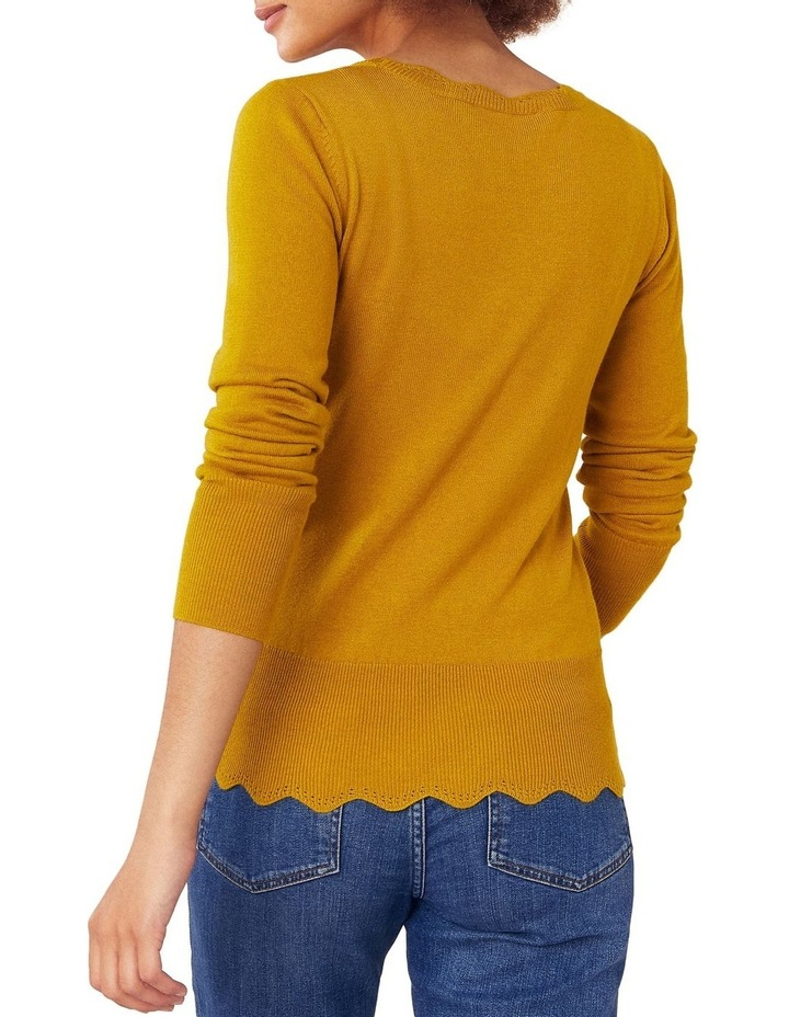 Celina Scallop Neck Jumper image 3