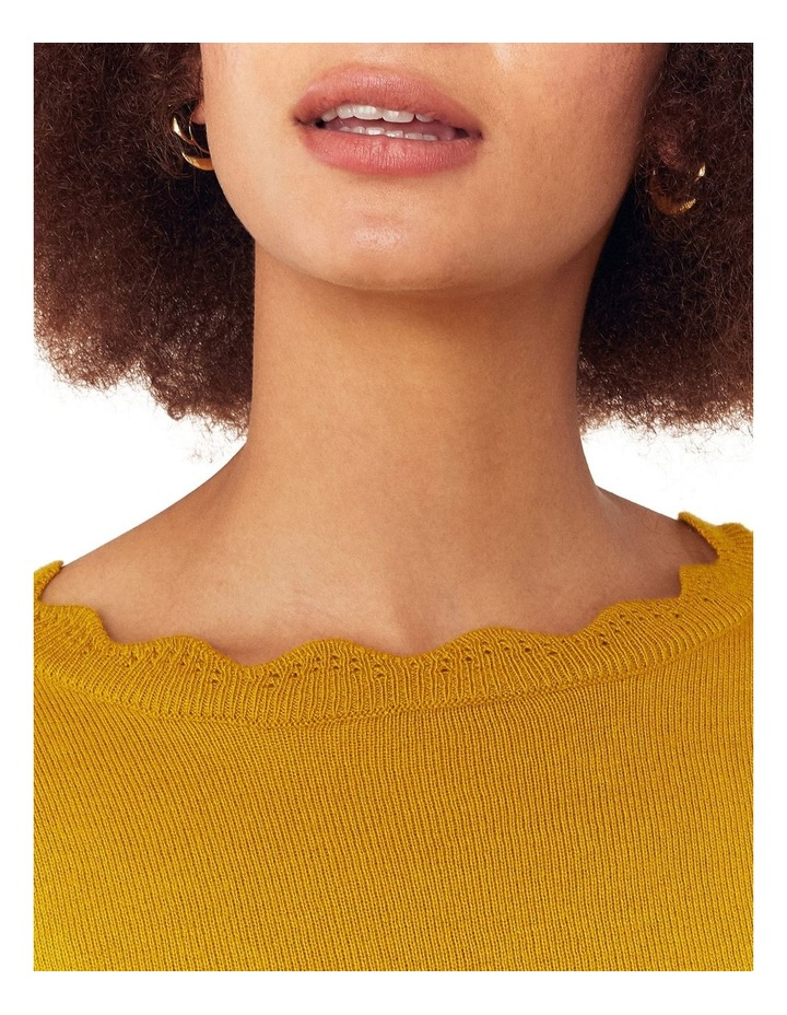 Celina Scallop Neck Jumper image 4
