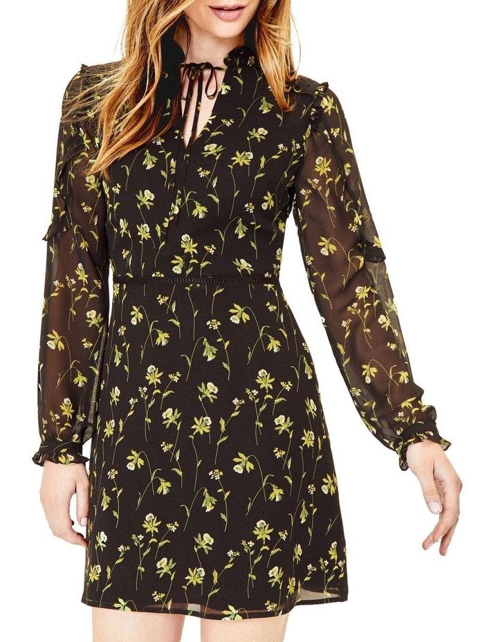 Daffodil Lace Trim Shift Dress image 1