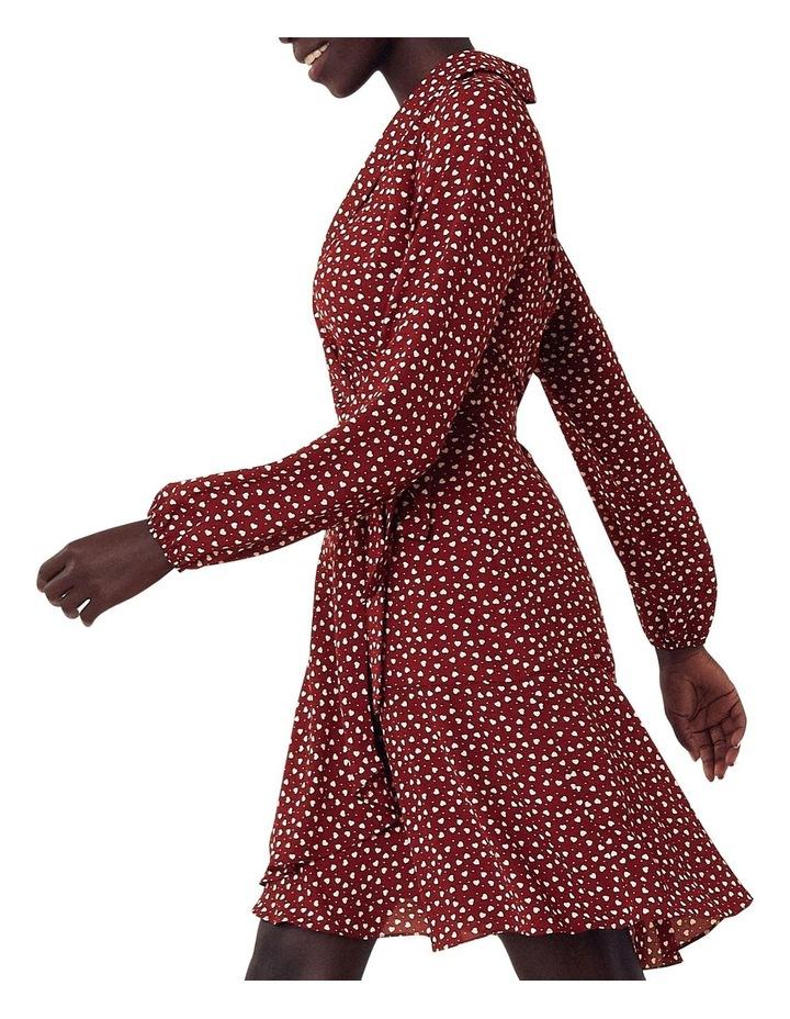 Heart Wrap Blouse Dress image 2