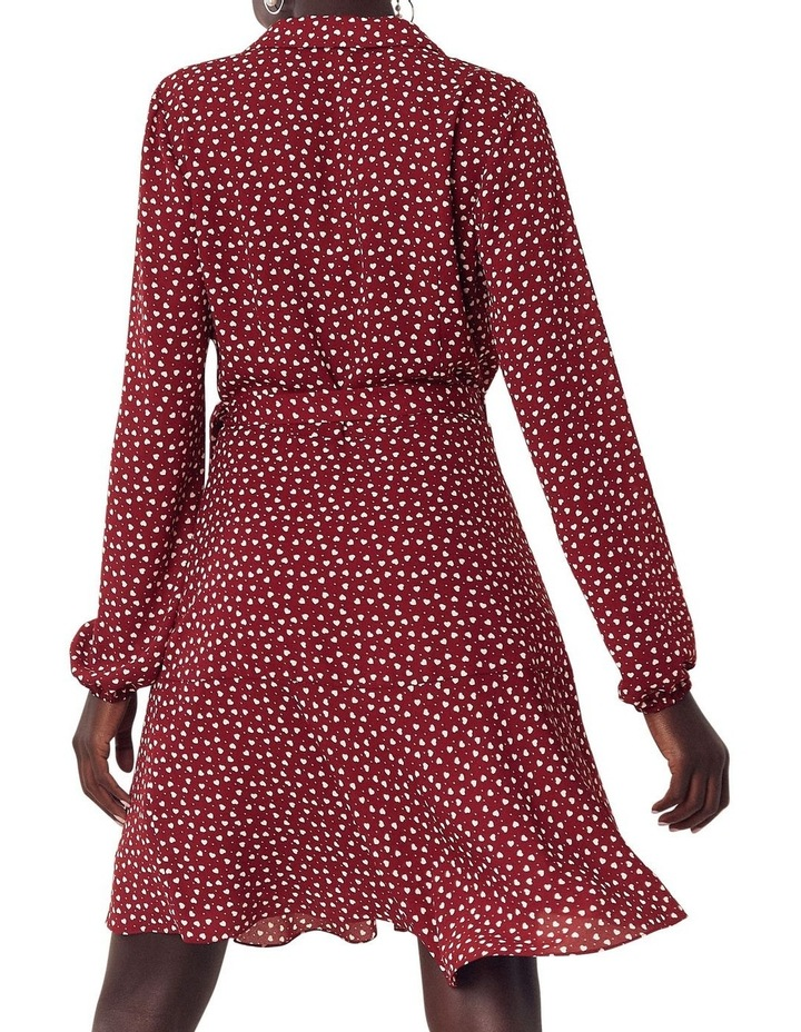 Heart Wrap Blouse Dress image 3