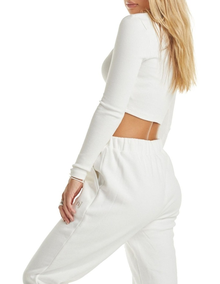 Authentic Long Sleeve Rib Top image 3