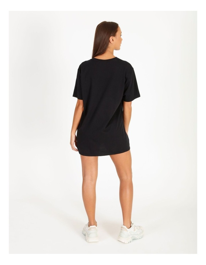 Its All Good Graphic Short Sleeve Oversized Tee image 3