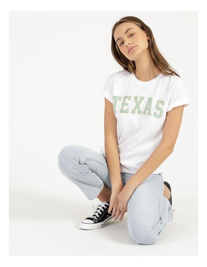 Texas Graphic Short Sleeve Oversized T Shirt image 2