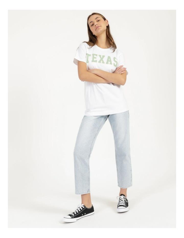 Texas Graphic Short Sleeve Oversized T Shirt image 3