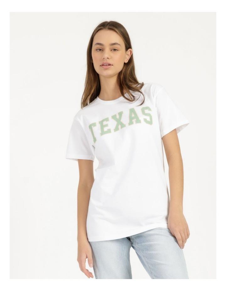 Texas Graphic Short Sleeve Oversized T Shirt image 5