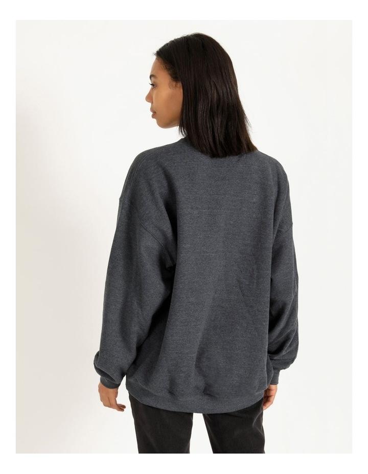 Manhattan Graphic Oversized Sweatshirt image 3
