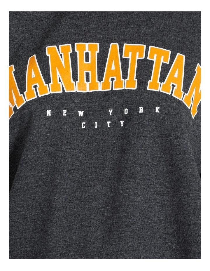 Manhattan Graphic Oversized Sweatshirt image 5