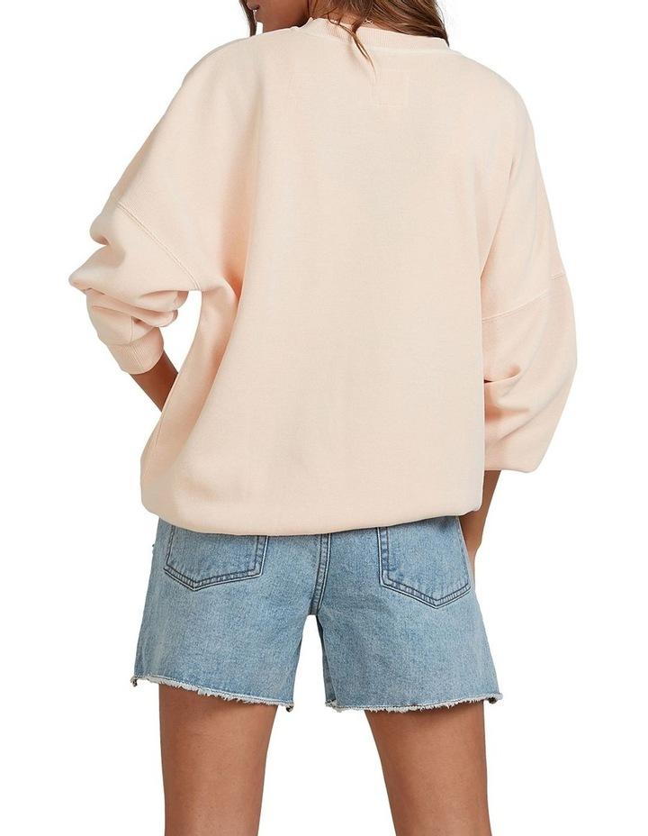 Serenity Bisque Crew Top Sweatshirt image 2