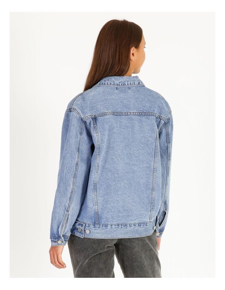 Oversized Denim Jacket image 3
