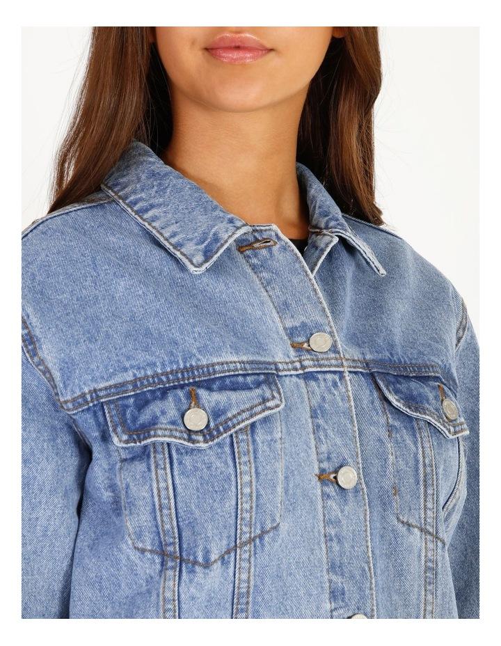 Oversized Denim Jacket image 5