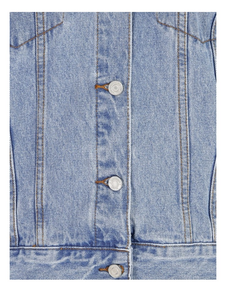 Oversized Denim Jacket image 6