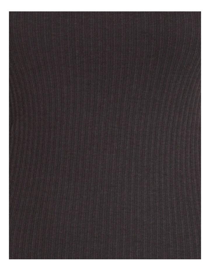 Ribbed Strappy Midi Dress image 4
