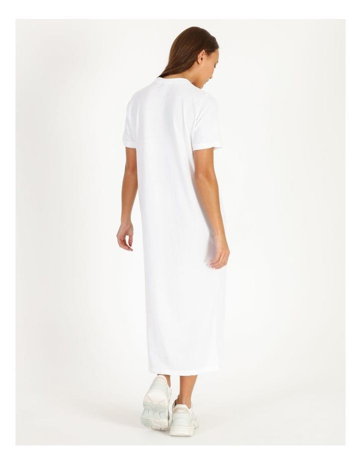 Basic Tshirt Midi Dress image 3
