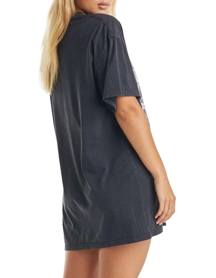 Ivy T-Shirt Dress Vintage Black image 2