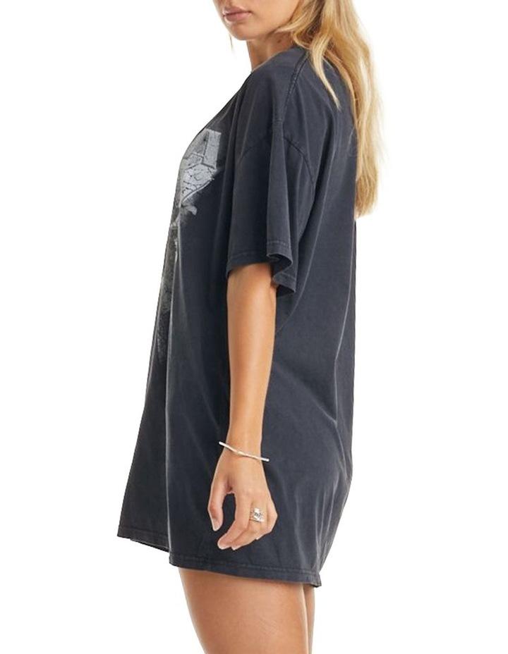 Ivy T-Shirt Dress Vintage Black image 3
