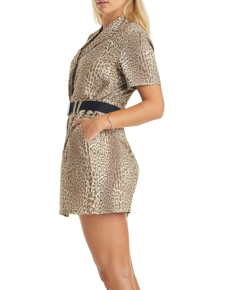 Karla Short Sleeve Dress Leopard image 3