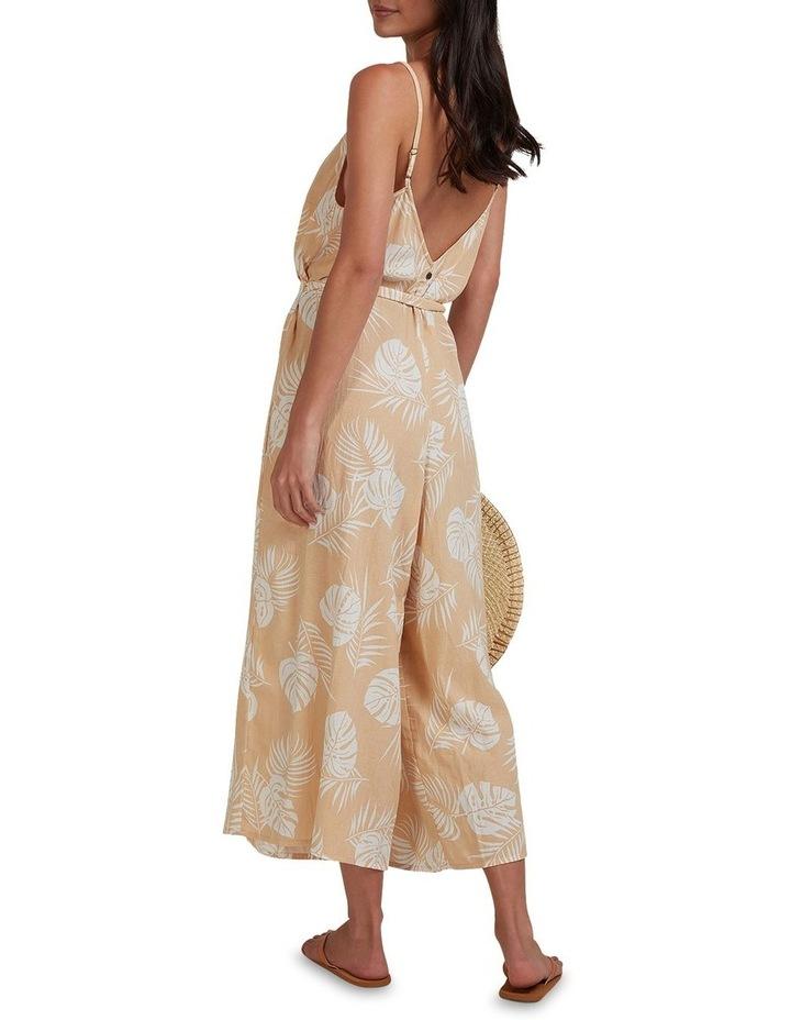 Sandy Palm Jumpsuit Beige image 2