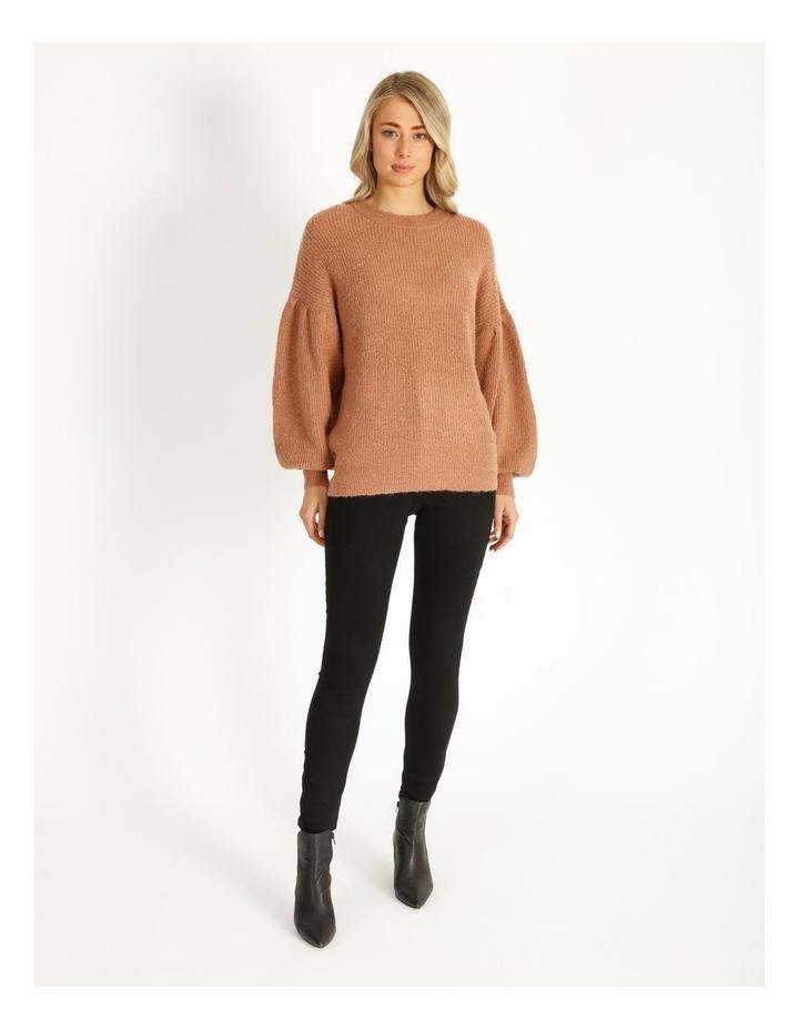 Mocha Knit Pullover image 1