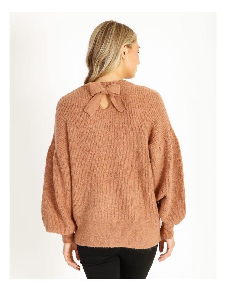 Mocha Knit Pullover image 3