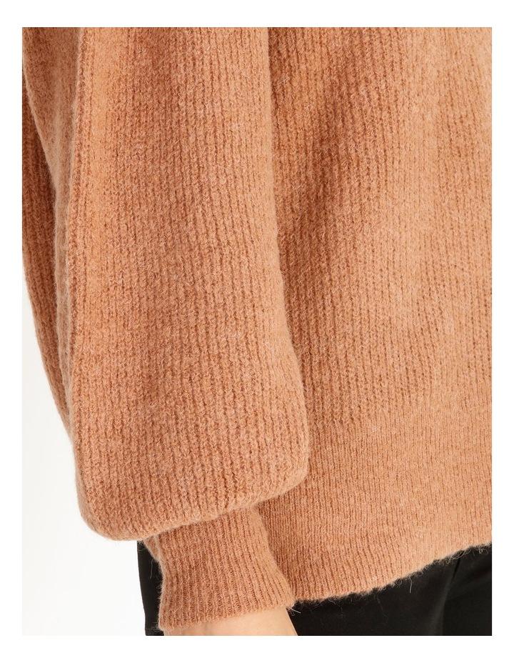 Mocha Knit Pullover image 4