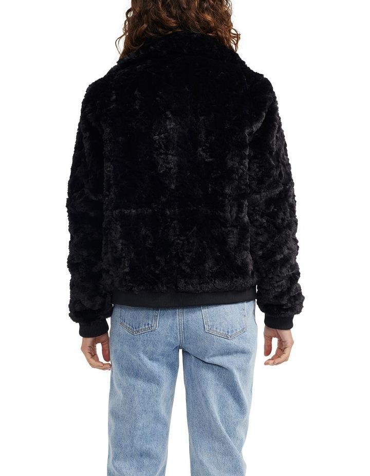 Maya Fur Bomber Jacket image 4